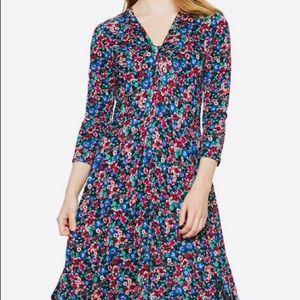 APT 9 Large NWT Floral Midi Handkerchief Hem Dress